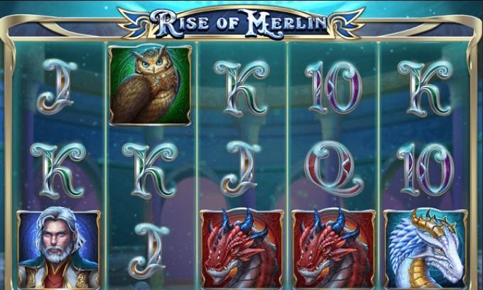интерфейс игры Rise of Merlin